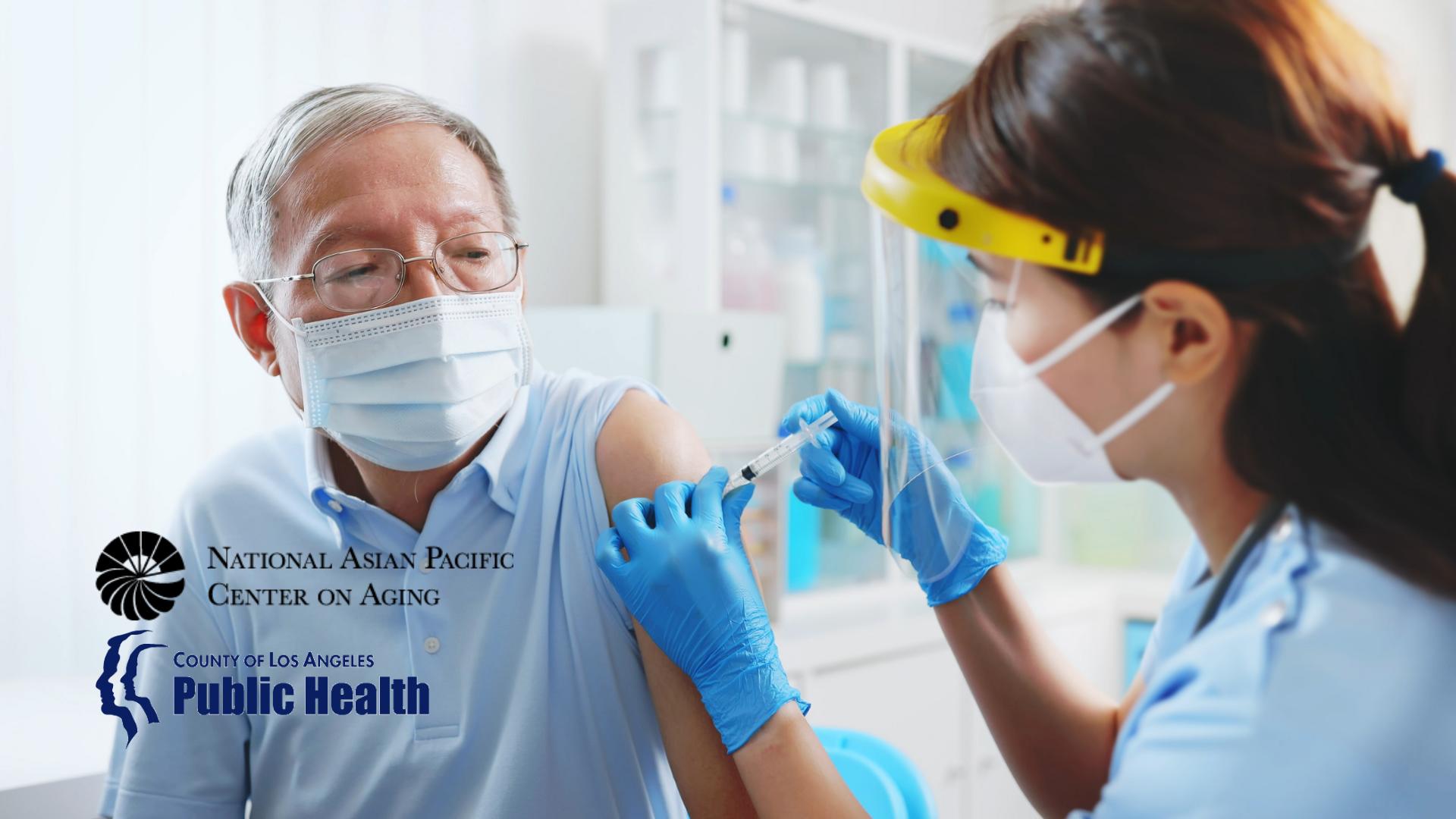 NAPCA與洛縣公衛部合作 提供居家疫苗接種