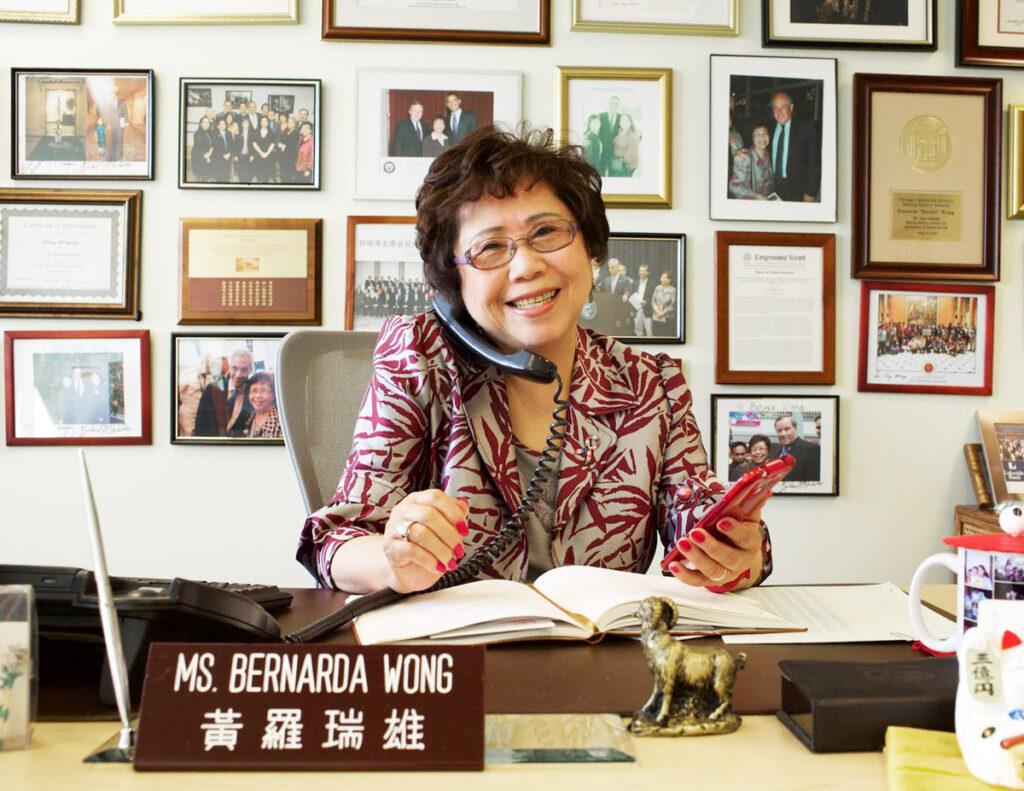 "NAPCA Honors the Passing of a Giant – Bernarda ""Bernie"" Wong"