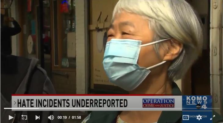 NAPCA: Hate Crimes Against Elderly Asians Underreported